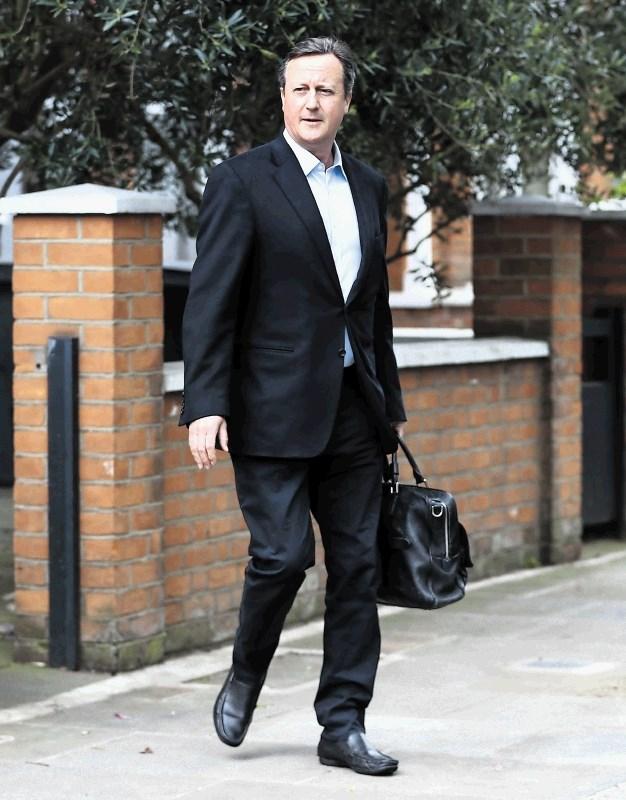 Pohlep na vrhu ali sramota Davida Camerona