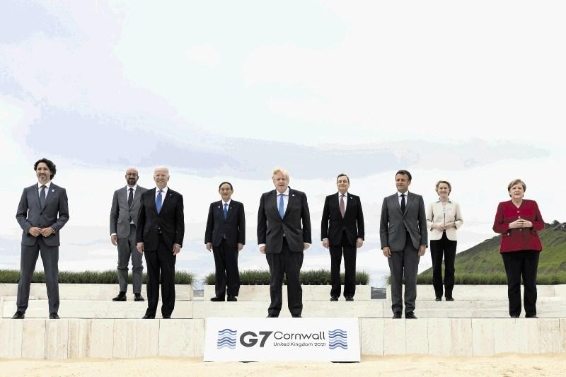 Skupina G7: Vse, da bi preprečili ponovitev pandemije