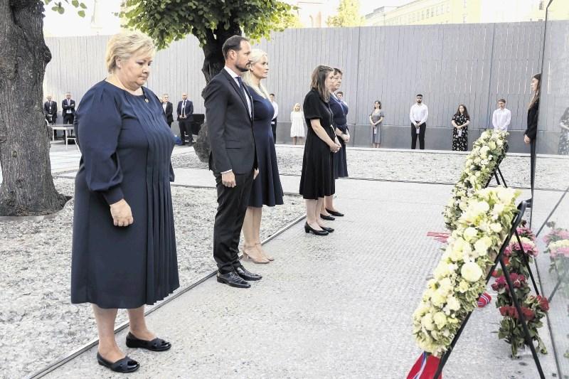 Poklon žrtvam ob obletnici Breivikovega pokola