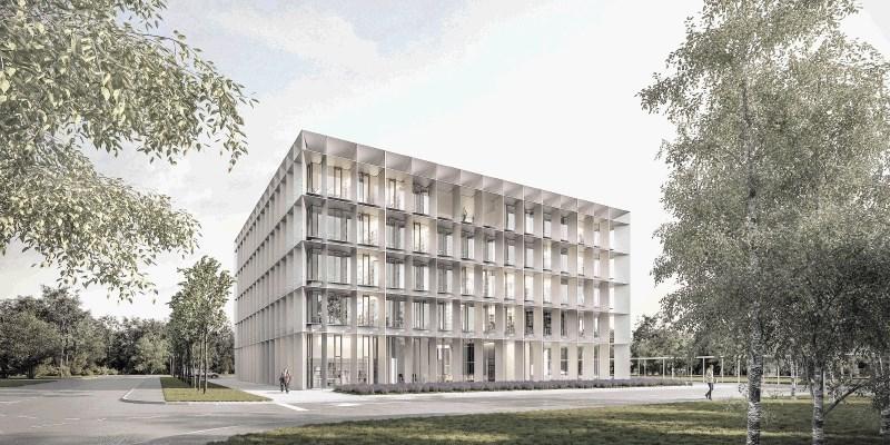 Darsovo poslovno stavbo bodo gradili jeseni