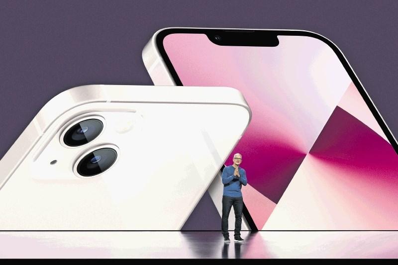 Apple predstavil nove iphone, tablici in uro