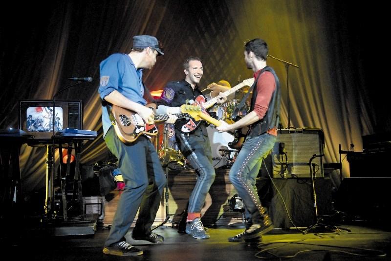 Proizvajanje elektrike na turneji skupine Coldplay