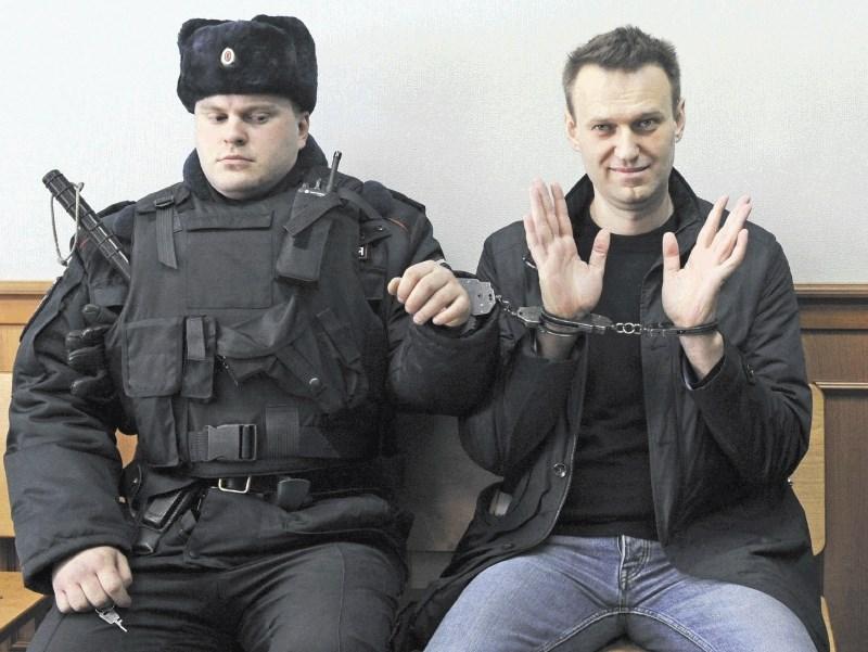 Aleksej Navalni, zaprti ruski kritik Putina, je letošnji nagrajenec saharov