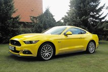 Ford mustang: Mozart, strah  in kartica