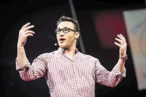 Simon Sinek: Milenijci so neučakani, nefokusirani in leni