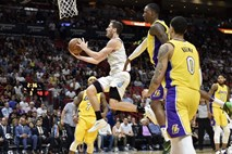 Visok poraz Miamija z L.A. Lakers