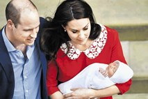 William in Kate tretjega otroka poimenovala Louis Arthur Charles