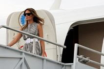 NYT: Trump pobesnel, ker je Melania gledala CNN in ne Fox News