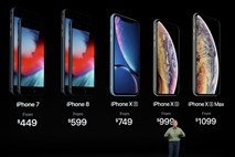 Apple predstavil novo sezono  iphonov in novo pametno uro