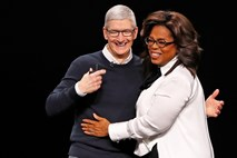 Apple stavi na Spielberga, Oprah in revije