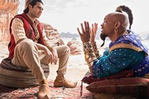 #kino Will Smith kot duh v Aladinu