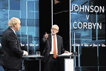 Debatni remi Johnsona in Corbyna