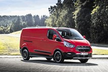 Ford transit active in trail